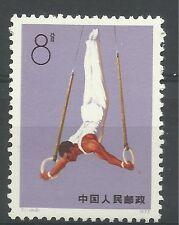 P.R. China 1974, SG 2550 (2) 8f Anelli esercizio, unmounted Nuovo di zecca.