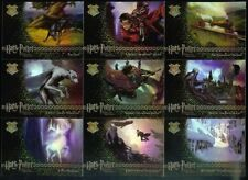 HARRY POTTER  PRISONER OF AZKABAN UPDATE  FOIL SET 9 CARDS R1 TO R9 BY ARTBOX