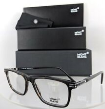 New Authentic MONT Blanc Eyeglasses MB 710 052 Brown Tortoise Frame 54mm 0710