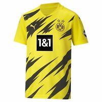 PUMA BVB Borussia Dortmund Heimtrikot Kinder Fußball Fan gelb 2020/21 931113