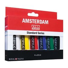 Amsterdam Standard Series Acrylic Artist Paint 6 x 20ml Starter Colours Set