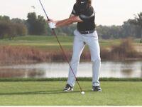Golf Instruction: Laser Swing Plane & Head Position CK +52 Point Digital Systm