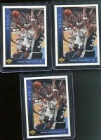 3X (3) 1993 Upper Deck Basketball Anfernee Hardaway ROOKIE RC #382 MINT -PSA 10?