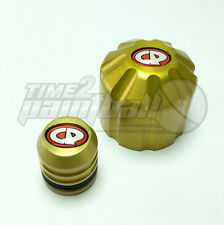 CP Thread Protector + Fill Nipple Dust Cap Cover Combo - Yellow Paintball Metal