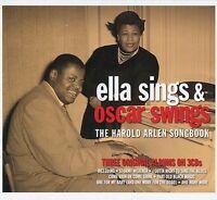 Ella Sings & Oscar Swings - Harold Arlen Songbook 3 CD Box Set 3 Original Albums