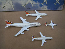 Old Schabak Diecast Model Plane Airplanes Philippine Airlines 747, A300, 737/33
