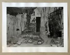 Petra Wunderlich, Carrara III, Photographie, 2006, handsigniert und datiert