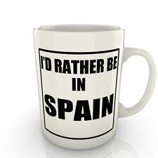 I' prof Rather être dans un Espagne - Tasse comme cadeau nouveauté voyage