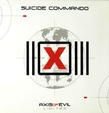 SUICIDE COMMANDO Axis of evil - CD + DVD BOX SET