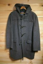 Vintage Gloverall Duffle Coat Grey Large Made in England