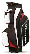 TaylorMade Golf 2016 Pro Cart 4.0 Trolley Bag - 14 Way Divider Black/white/red