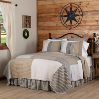 VHC Ashmont Quilt (Your Choice Size & Accessories) Country Vintage