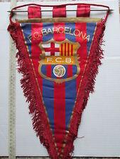v1 gagliardetto BARCELONA FC football club calcio pennant fanion spain