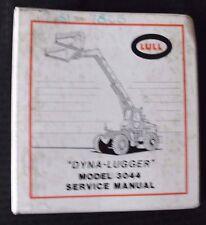 LULL MODEL 3044 DYNA-LUGGER EXTENDING BOOM LIFT TRUCK SERVICE REPAIR MANUAL