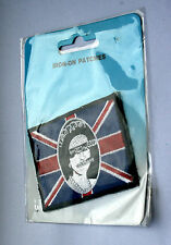 SEX PISTOLS God Save The Queen Embroidered Patch (not badge shirt lp cd) R060