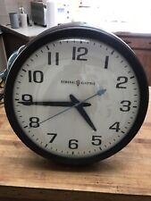 New ListingVintage General Electric School Wall Clock-Bakelite-Works