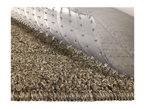 Resilia - Clear Vinyl Plastic Floor Runner/Protector for Deep Pile Carpet - 27 x