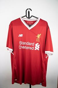 Liverpool 125 years 2017 2018 home shirt jersey 10 COUTINHO Men's L