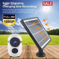 WiFi 1080P HD Solar Power PTZ IP Camera Security CCTV Waterproof Outdoor Cam NEW