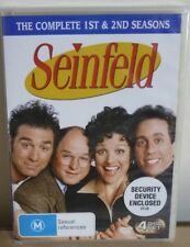 DVD - SEINFELD Complete 1st & 2nd SEASONS - BRAND NEW in PLASTIC - 4 DISC SET