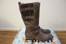 Spirit by Lucchese Womens Amelia Cowboy Boots NEW Size 8.5 RUNS LARGE Chocolate