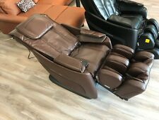 Cozzia Cz-328 Massage Chair Lay Out Recliner with Heat - Chocolate