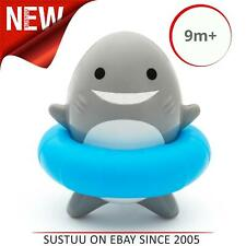 Munchkin Sea Spinner Wind Up Shark Bath Toy│Kid's Water Play Bath Time Friend