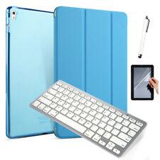 "For iPad 6th Gen 9.7"" 2018 Slim Wake/Sleep Leather Cover Case Bluetooth Keyboard"