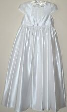 M&S AUTOGRAPH GIRLS HOLY COMMUNION BRIDESMAID PARTY DRESS WHITE AGE 9 NEW