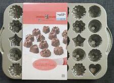 Nordic Ware Cast-Aluminum Platinum Collections Teacake, Chocolate & Bundt Molds