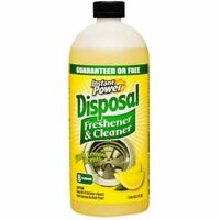 Instant Power 1501 Disposal and Drain Cleaner, Lemon Scent, 1 Liter