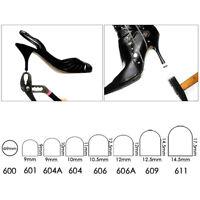 24 Sets High Heel Repair Tips Tap Dowel-Lifts Black Repair for Shoemaker DIY