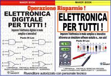LIBRI ELETTRONICA PRATICA ANALOGICA DIGITALE IMPARARE FACILE DA ZERO PER TUTTI