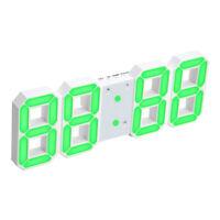 Sveglia Da Tavolo A LED Con Orologio Da Parete 3D Decorativo Da Parete Per