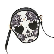 BT Woman Personalized Meshenger Handbag Cute Skull Head shoulder Bag