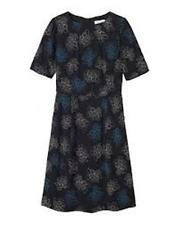 Toast Women's Multicolour Dotted Floral Dress Size UK 16 RRP-£125