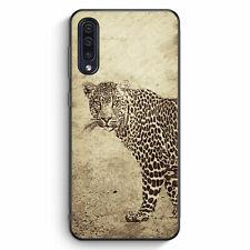 Vintage Leopard Samsung Galaxy A50 Silikon Hülle Motiv Design Tiere Schön Cov...