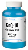 CoQ-10 400mg 120 Capsules Coq10 Co Q10 Coenzyme Anti Aging Cardiovascular HEART