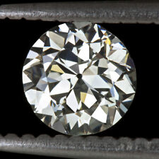 VINTAGE OLD EUROPEAN CUT DIAMOND 5.5mm J VS2 CERTIFIED LOOSE ROUND TRANS ANTIQUE