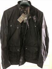Barbour International Steve McQueen Men's Duke Wax Jacket Size L