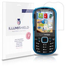 iLLumiShield Anti-Bubble/Print Screen Protector 3x for Samsung Intensity 2