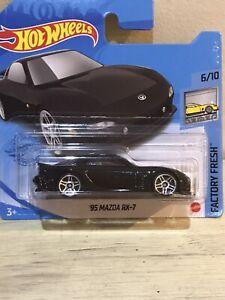 2021 Hot Wheels  - '95 Mazda RX-7 - Factory Fresh on Short Card