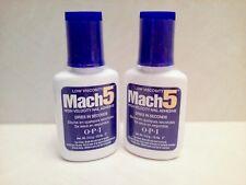 OPI Mach 5 High Velocity Nail Adhesive Nail Glue 0.5oz / 14ml **SET OF 2**