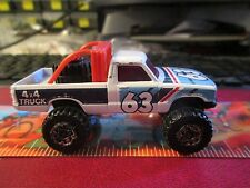 Vintage Toy Car 1981 Matchbox 4X4 Open Back Truck Made In Macau