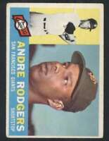 1960 Topps #431 Andre Rodgers VG/VGEX Giants 48585