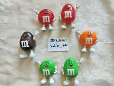 More details for used - rare 1991 m&ms sweets dispenser x6 toys 90's mars chocolate memorabilia