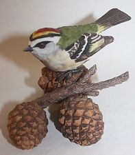 1991 Lenox Golden Crowned Kinglet Garden Birds Porcelain Figurine Sculpture Mint