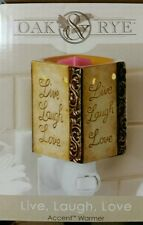 Accent Warmer Live, Laugh, Love Fragrance Warmer