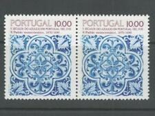 Portugal Stamps   1980s   Portuguese Azulejo (Tiles) 12 stamps   Mint and Used