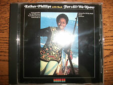 Esther Phillips-For All We Know-2001 King-Japan+OBI